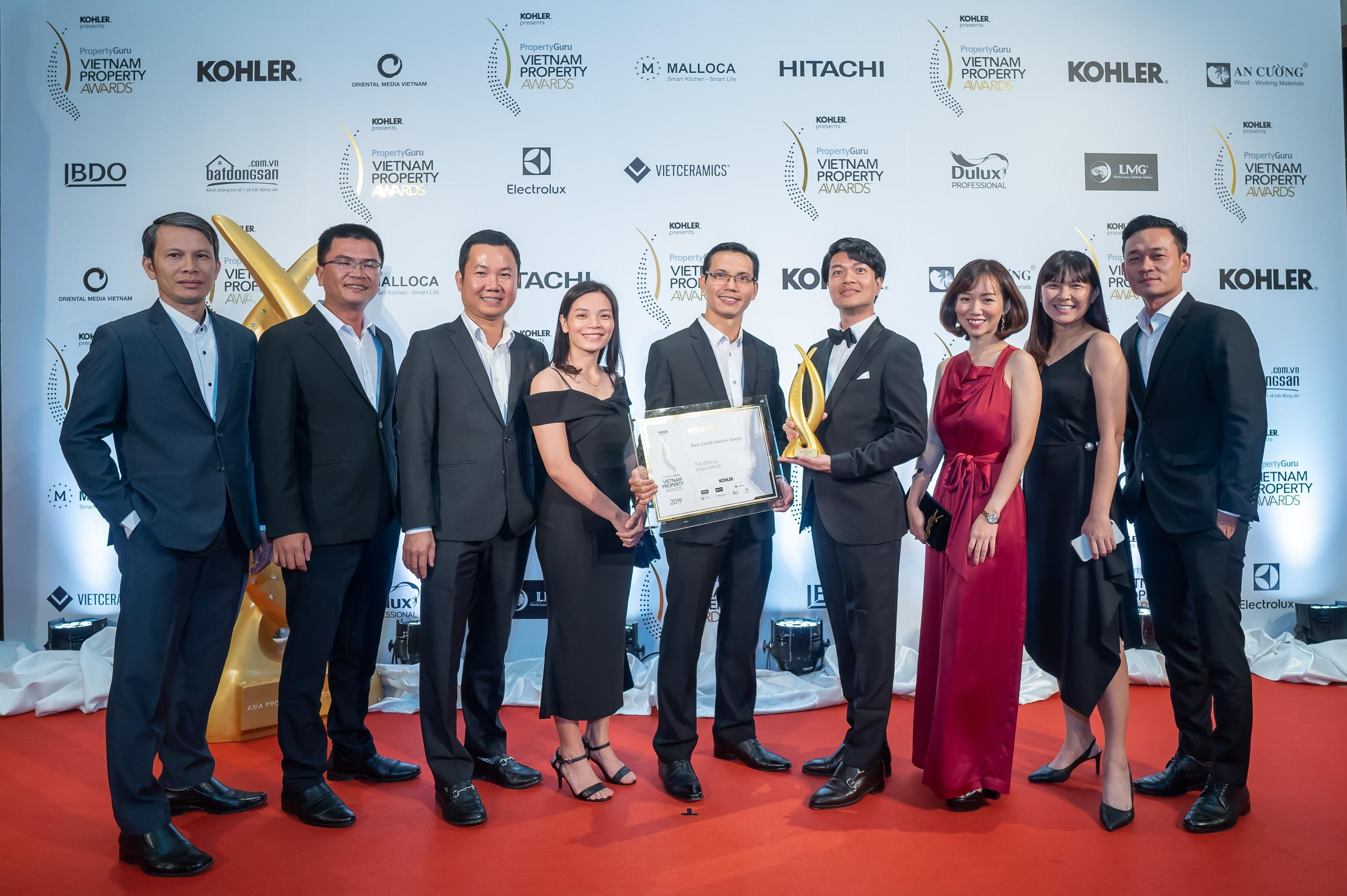 THE SONG WON BIG AT VIETNAM PROPERTY AWARDS 2019